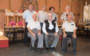Jassleiter Albert Walker mit den erfolgreichen Jassern Luzia Sigirist, Marie Planzer, Rosmarie Gisler (hinten von links), Alois Ulrich, Mario Infanger und Gottlieb Aschwanden (vorne von links). (Bild: PD)