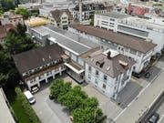 Rund zehn Millionen Franken muss die Stadt einplanen für die Nutzung des Schiesser-Areals als Kulturzentrum. (Bild: Reto Martin - 22. Juli 2019)