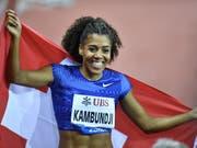 Mujinga Kambundji ist eine der grössten Schweizer Hoffnungen auf ein Top-Resultat an der WM (Bild: KEYSTONE/WALTER BIERI)
