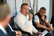 Branchengespräch an der Interboot in Friedrichshafen mit Beat Plüss, Präsident SBV. Bild: PD