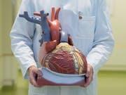 Forscher aus der Schweiz und Deutschland wollen durch eine grossangelegte Gen-Analyse herausfinden, welchen Anteil die Veranlagung bei Herzerkrankungen hat. (Bild: Keystone/DPA/SEBASTIAN KAHNERT)