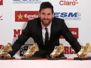 Bei der Wahl zum erneuten Fussballer des Jahres von Lionel Messi soll es zu Unregelmässigkeiten bei der Fifa gekommen sein. (Bild: KEYSTONE/AP/MANU FERNANDEZ)