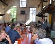 Diese Versammlung in der alten Woogie-Halle am 15. September ist der Stein des Anstosses. (Bild: Margrith Pfister-Kübler)