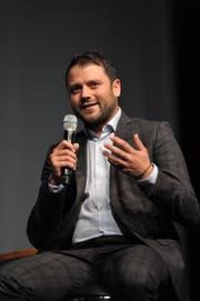 CVP-Nationalratskandidat Simon Stadler. (Bild: Urs Hanhart)