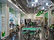 Die E-Bike-Läden unter der Marke M-Way gehören neu nicht mehr zur Migros, sondern zur Swiss E-Mobility Group. (Bild: KEYSTONE/MARTIN RUETSCHI)