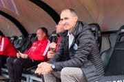 Thomas Häberli ist mit zunehmender Dauer der Saison zufriedener mit der Luzerner Mannschaft. (Bild: Martin Meienberger/Freshfocus, Lugano, 22. September 2019)