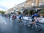 In der englischen Region Yorkshire wird am Sonntag der neue Strassen-Weltmeister gekürt (Bild: KEYSTONE/EPA/NIGEL RODDIS)