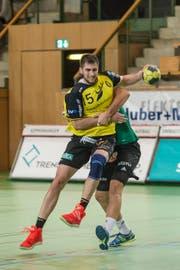 Dominik Jurilj von St. Otmar zeigte eine starke Leistung. (Archivbild: Hanspeter Schiess)