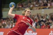 Trotz Niederlagen gibt es auch Positives bei der Schweizer Nati um Lisa Frey (Bild: Keystone)