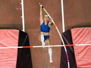 Anschelika Sidorowa gelang im WM-Final eine persönliche Bestleistung (Bild: KEYSTONE/AP/NICK DIDLICK)