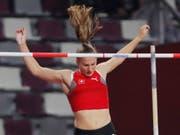 Angelica Moser steht am Sonntag zum ersten Mal in einem WM-Final (Bild: KEYSTONE/EPA/ROBERT GHEMENT)