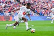 Es geht nur langsam vorwärts beim FC Luzern mit Neuzugang Ibrahima Ndiaye. (Bild: Martin Meienberger/Freshfocus)