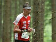 Matthias Kyburz realisierte am Heim-Weltcup in Laufen bereits den 44. Weltcup-Podestplatz seiner Karriere (Bild: KEYSTONE/SWISS ORIENTEERING/REMY STEINEGGER)