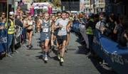 Ideale Bedingungen für Läufer und Zuschauer: Der Stadtlauf fand bei schönstem Sonnenschein statt.Bild: Michel Canonica