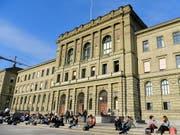 Forschende der ETH Zürich haben bei den «Starting Grants» abgeräumt. (Bild: KEYSTONE/WALTER BIERI)