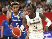 Deutschland mit Dennis Schröder kassierte gegen die Dominikanische Republik eine sensationelle Niederlage (Bild: KEYSTONE/AP COLOR CHINA PHOTO)