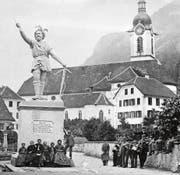 Ein Blick auf den Vorgänger des heutigen Tell – und ins Altdorf vor 150 Jahren. (Bild: Smithsonian Archives)