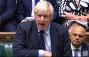 Hat die Mehrheit im Parlament verloren: der britische Premier Boris Johnson. (Bild: Keystone)