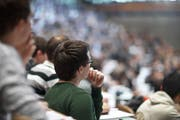 Die Universität St.Gallen öffnet die Hörsäle auch für die interessierte Bevölkerung. (Bild: Gaetan Bally/KEY)