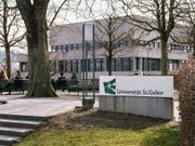 Die Universität St. Gallen (HSG) verhandelt mit dem Bundesland Vorarlberg über einen HSG-Ableger an der Fachhochschule Dornbirn (Bild: KEYSTONE/CHRISTIAN BEUTLER)