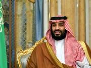 Der saudi-arabische Kronprinz Mohammed bin Salman hat in einem Interview davor gewarnt, die Situation am Golf eskalieren zu lassen. (Bild: KEYSTONE/AP Pool AFP/MANDEL NGAN)