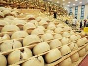 Mit Strafzöllen wird italienischer Parmesan in den USA zum exklusiven Nischenprodukt. (Bild: KEYSTONE/EPA/ELISABETTA BARACCHI)