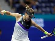 Belinda Bencic kämpft sich eine Runde weiter (Bild: KEYSTONE/FR110666 AP/ADAM HUNGER)