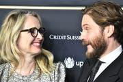 Julie Delpy und der deutsche Schauspieler Daniel Brühl bei der Filmpremiere am 15. Zurich Film Festival. (Bild: Keystone)