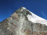 Der Bergunfall ereignete sich, als die beiden Alpinisten auf dem Abstieg vom Pollux (Bild) in Richtung Zwillingsjoch waren. (Bild: police cantonale valaisanne)