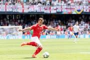 Wann sehen die Fans Xherdan Shaqiri wieder im Schweizer Dress wirbeln? Weitet sich sein Verzicht zur Affäre aus? Es ist Diplomatie gefragt. (Bild: Keystone)