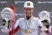 Ein Sieger durch und durch: Marcel Hirscher hat alles gewonnen, was es zu gewinnen gibt. (Bild: Kesystone)