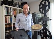 Roman Sticher, Konservator und Restaurator aus Muri. (Bild: Eddy Schambron)
