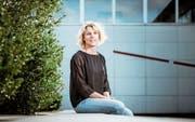 Dagmar Rösler, die erste Frau an der Spitze des Lehrerverbandes, fordert genügend Mittel, um die Digitalisierung zu meistern. (Bild: Michel Lüthi, Bellach, 2. September 2019)