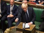 Grossbritannien, Italien, Hongkong: Politische Entwicklungen sorgen für Erleichterung an den Finanzmärkten. Unter anderem droht Premierminister Boris Johnson ein Gesetz gegen einen No-Deal-Brexit. (Bild: KEYSTONE/EPA UK PARLIAMENT/JESSICA TAYLOR / UK PARLIAMENT / HAND)