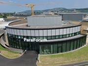 Das neue Besucherzentrum Paraforum im Schweizer Paraplegiker-Zentrum in Nottwil informiert über das Leben mit Querschnittlähmung. (Bild: Schweizer Paraplegiker-Stiftung SPS)