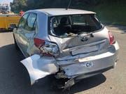 Es entstand ein Sachschaden in der Höhe von rund 13'000 Franken. (Bild: Luzerner Polizei)