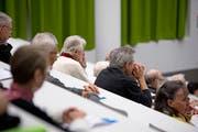 Seit Jahren nimmt die Zahl der Teilnehmer an der Senioren-Uni zu. (Bild: Corinne Glanzmann, Luzern, 14. Januar 2019)