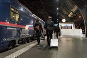 Nachtzugfahren soll konkurrenzfähiger werden, fordert der Bundesrat.Bild: KEY (Zürich, 19. November 2018) (Bild: KEYSTONE)