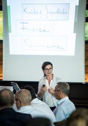 Die Kreuzlinger Schulpräsidentin Seraina Perini Allemann macht Kinder & Jugendliche, Finanzen und Kommunikation zu ihren Schwerpunkten.