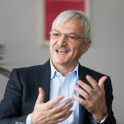 Konjunkturforscher Peter Eisenhut. (Bild: Michel Canonica)