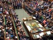Die Gegner eines ungeordneten EU-Austritts im britischen Parlament haben Premierminister Boris Johnson eine erneute Niederlage bereitet. (Bild: KEYSTONE/AP House of Commons/JESSICA TAYLOR)