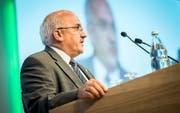 Muss er am 20. Oktober einen Sitzverlust erklären? Ruedi Zbinden, Präsident der SVP Thurgau. (Bild: Reto Martin)
