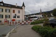 Aus Sicherheitsgründen entschieden sich die SBB den Gleisübergang in der Signalstrasse Rorschach derzeit zu sperren. (Bild: Ines Biedenkapp)