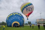 Der Start der Heissluftballone in Nottwil. (Bild: Boris Bürgisser, Nottwil, 5. September 2019)