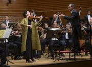 Das Royal Concertgebouw Orchestra spielt unter der Leitung von Tugan Sokhiev und mit Tabea Zimmermann als Solistin das Bartók-Konzert für Viola. (Bild: Priska Ketterer/Lucerne Festival)