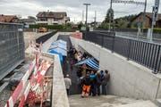 Eröffnung der Wegmatt-Unterführung in Horw. (Bild: Dominik Wunderli, Horw, 5. September 2019)
