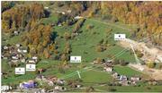 Mit diesen eigens erstellten Visualisierungen möchte René Stettler den möglichen Linienverlauf der geplanten Gondelbahn Weggis-Rigi Kaltbad aufzeigen. (Visu: René Stettler)