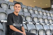 Ajet Sejdija fühlt sich im Sportpark Bergholz pudelwohl. Ihn würde es freuen, wenn er hier bald mit dem FC Wil in der Challenge League spielen dürfte. (Bild: Gianluca Lombardi)