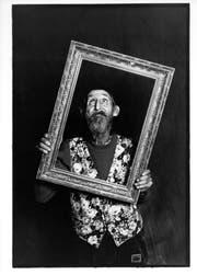 Hannes Schmid fotografierte Hans Krüsi 1993, zwei Jahre vor seinem Tod. (Bild: Hannes Schmid)