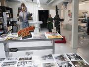 Die Cinémathèque suisse weiht ihr neues Archiv- und Forschungszentrum ein. (Keystone/LAURENT GILLIERON) (Bild: Keystone/LAURENT GILLIERON)